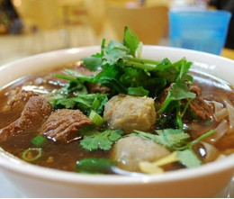 155. Beef and Beef Ball Noodle Soup Las Vegas