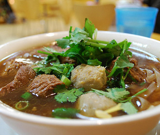 Beef and Beef Ball Noodle Soup Las Vegas