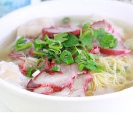 158.  Won-ton Mein Noodle Soup