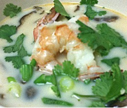 Tom Kha Shrimp Soup