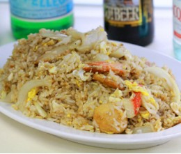 201.  Seafood Fried Rice