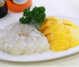 Yellow Mango and Sticky Rice Thai Style