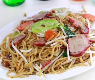 168 BBQ Pork Chow Mein