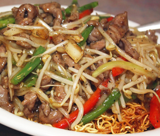 168.5 Beef Chow Mein Certified Angus