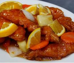 349.  Orange Shrimps