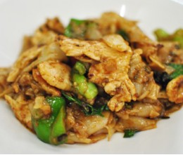 185. Pad Yai Kee Ma-ow Chicken