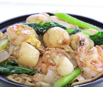 180.  Seafood Pad-Si-Eiw