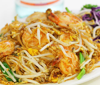 171. Jumbo Shrimp Pad Thai